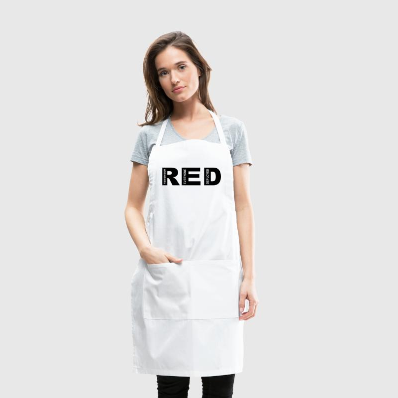 R.E.D Friday Remember Aprons - Adjustable Apron