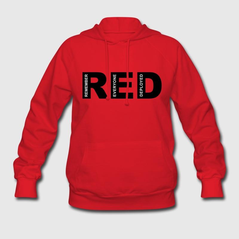 R.E.D Friday Remember Hoodies - Women's Hoodie