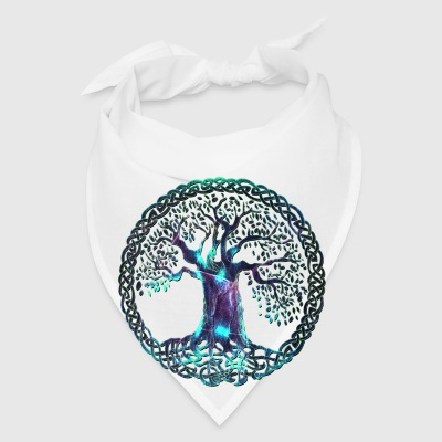 TREE OF LIFE - night moon - Bandana