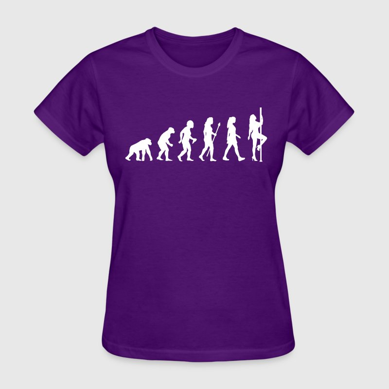 Evolution Pole Dancing - Women's T-Shirt