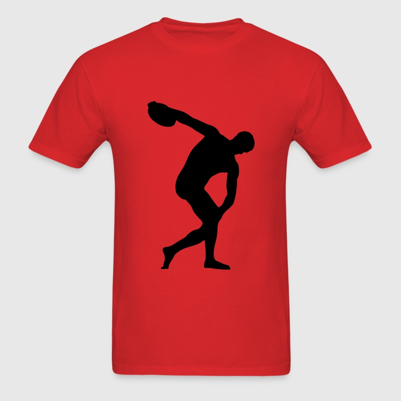 discus thrower, track and field T-Shirts - Men's T-Shirt