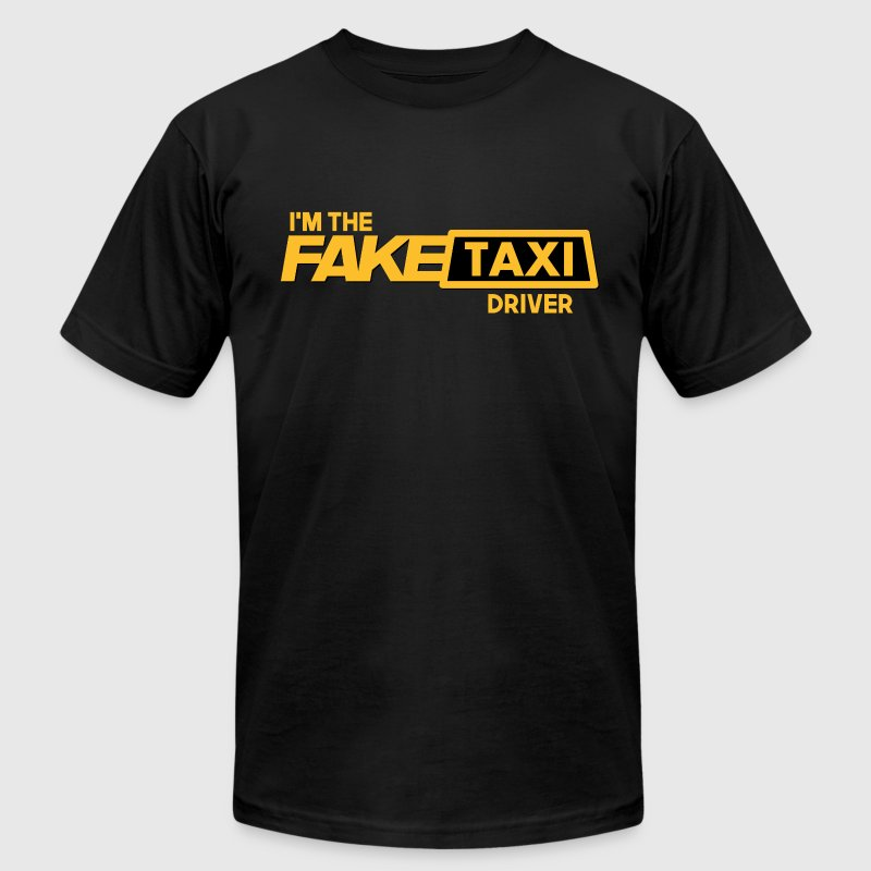 Fake Taxi T-Shirts - Men's T-Shirt by American Apparel