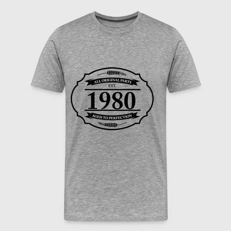 All original Parts 1980 - Men's Premium T-Shirt
