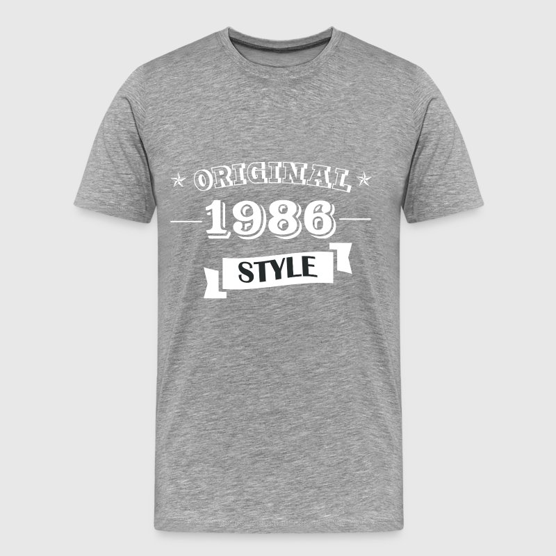 Original 1986 Style - Men's Premium T-Shirt