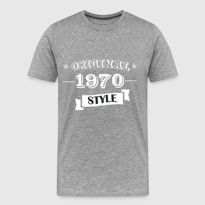 Original 1970 Style - Men's Premium T-Shirt