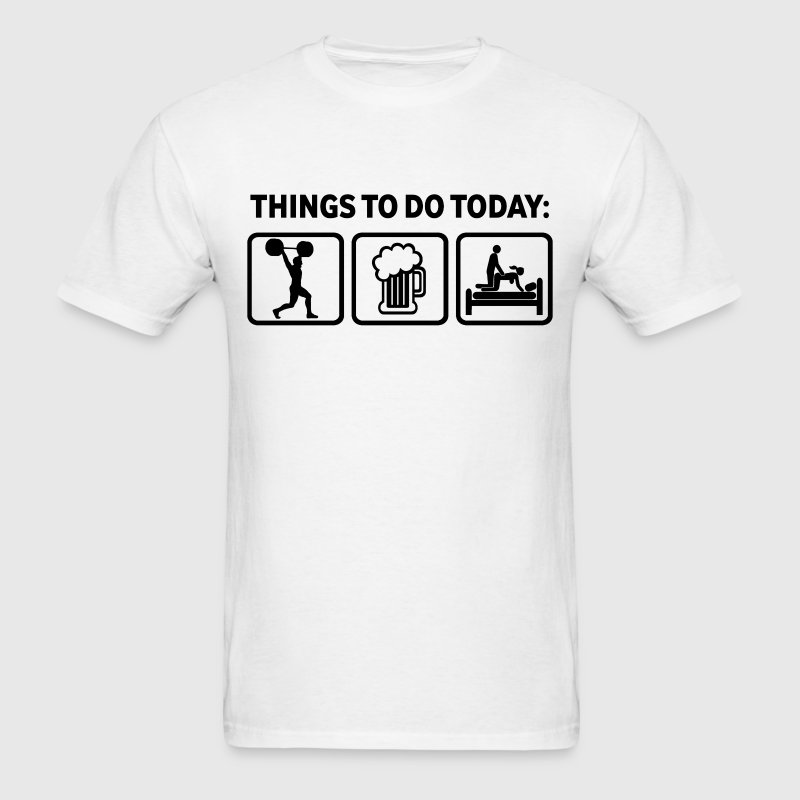 Weightlifting Plan For Today T-Shirt | Spreadshirt