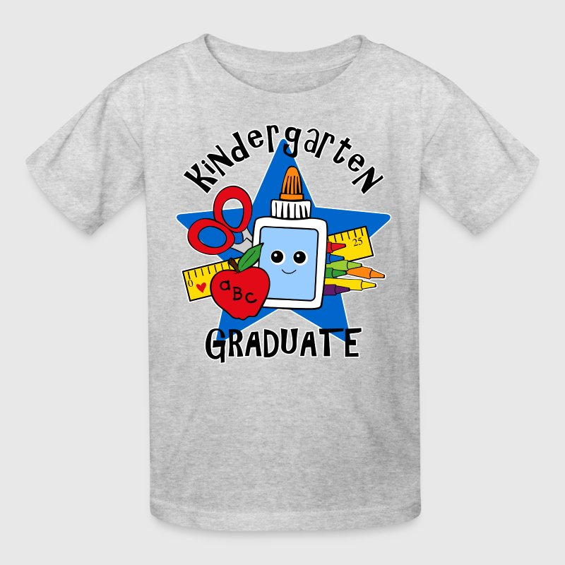 School Supplies Kindergarten Grad Kids' Shirts - Kids' T-Shirt