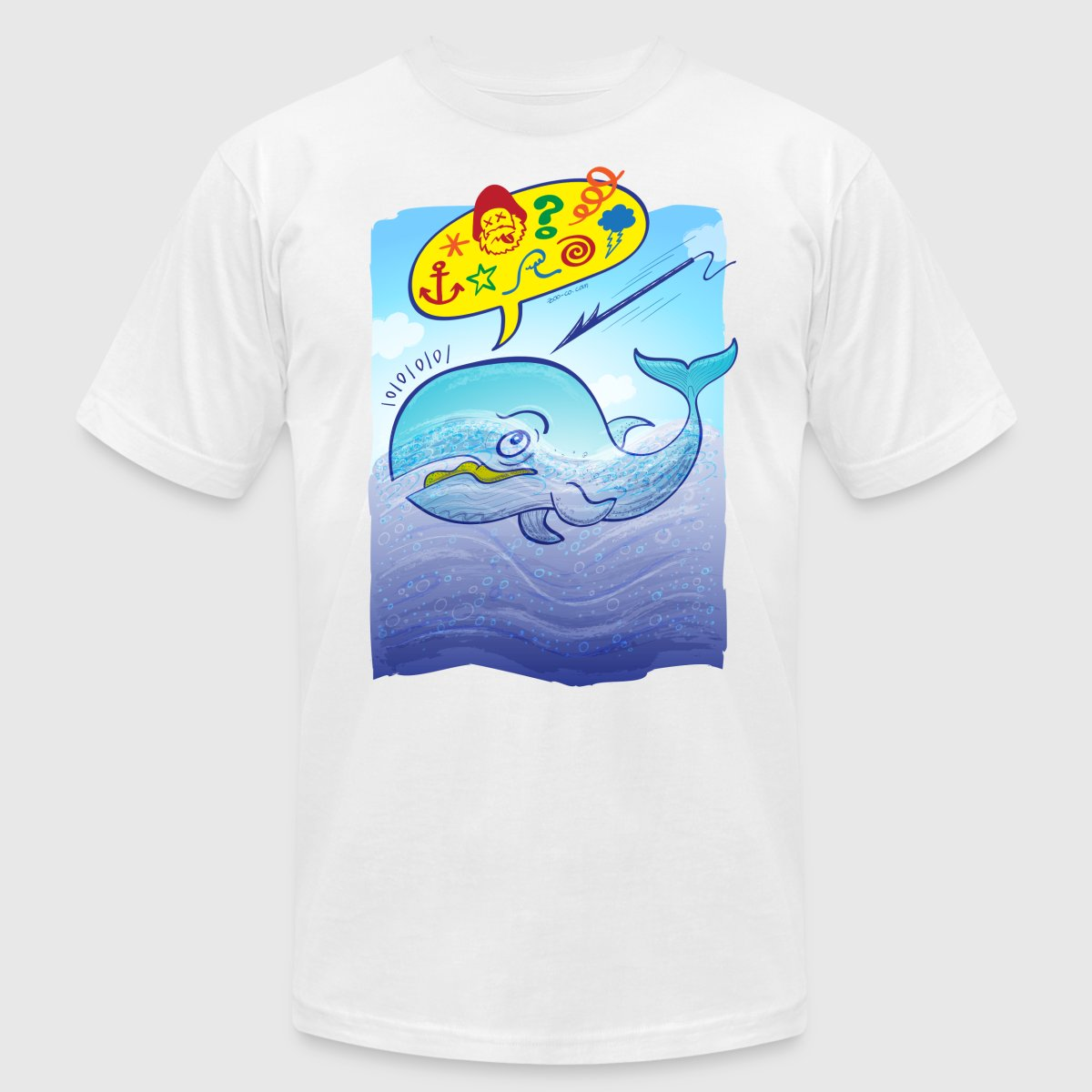 Wild whale saying bad words T Shirt