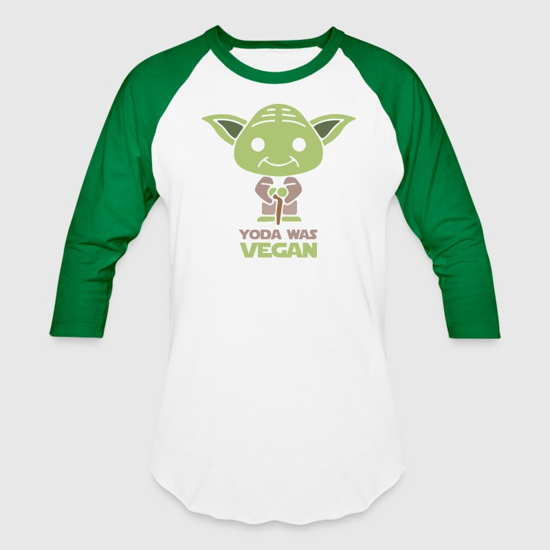 Yoda Was Vegan T-Shirts - Baseball T-Shirt