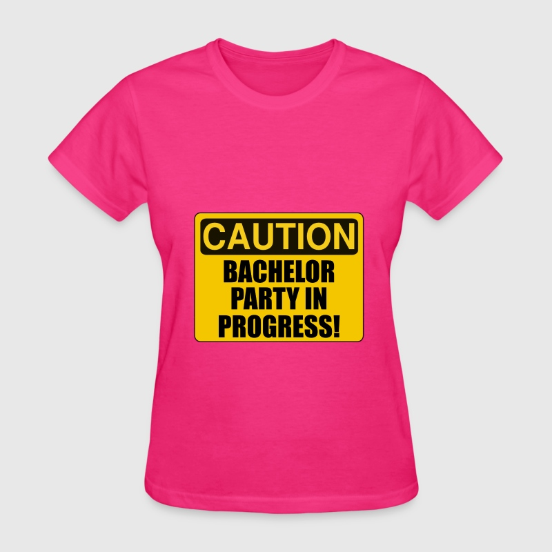 Caution Bachelor Party Pr T Shirt
