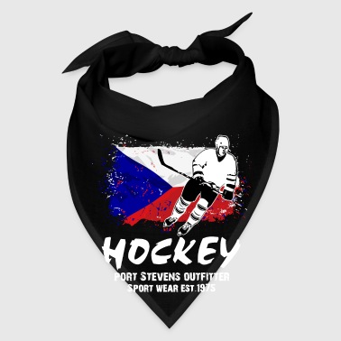 Icehockey - Hockey - Czech Republic Flag Aprons - Bandana