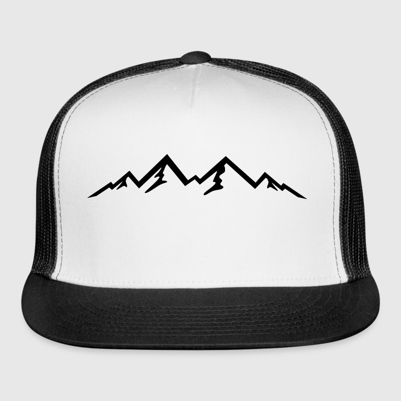 Mountains, Mountain (super cheap!) Sportswear - Trucker Cap