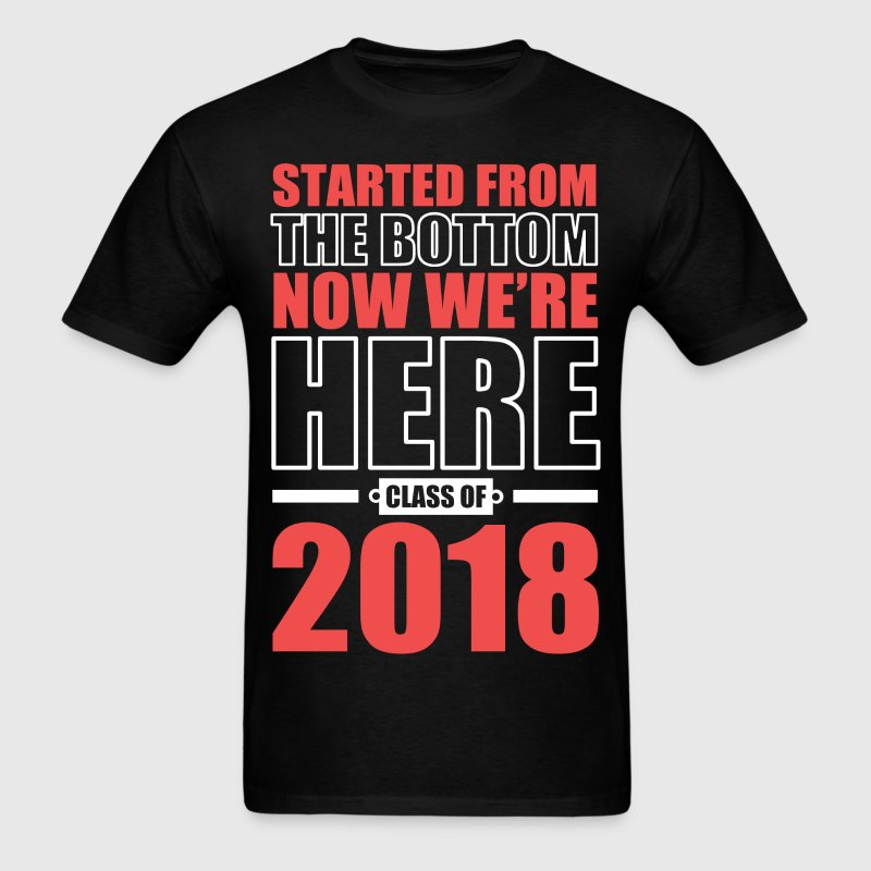 class of 2018 graduate t shirt spreadshirt. Black Bedroom Furniture Sets. Home Design Ideas