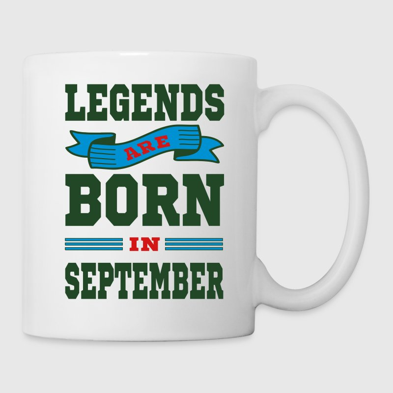Legends Are Born In September Mugs & Drinkware - Coffee/Tea Mug