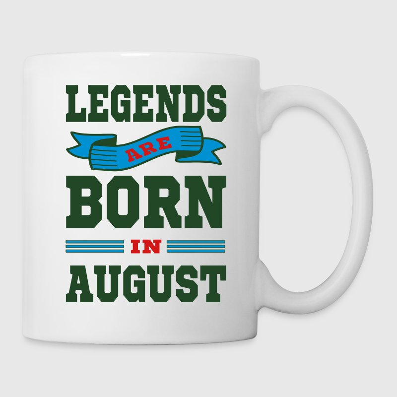 Legends Are Born In August Mugs & Drinkware - Coffee/Tea Mug