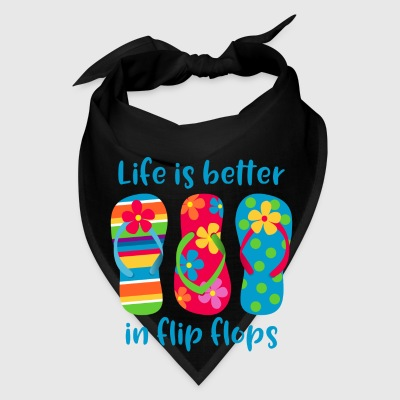 Life Is Better Flip Flops Bags & backpacks - Bandana