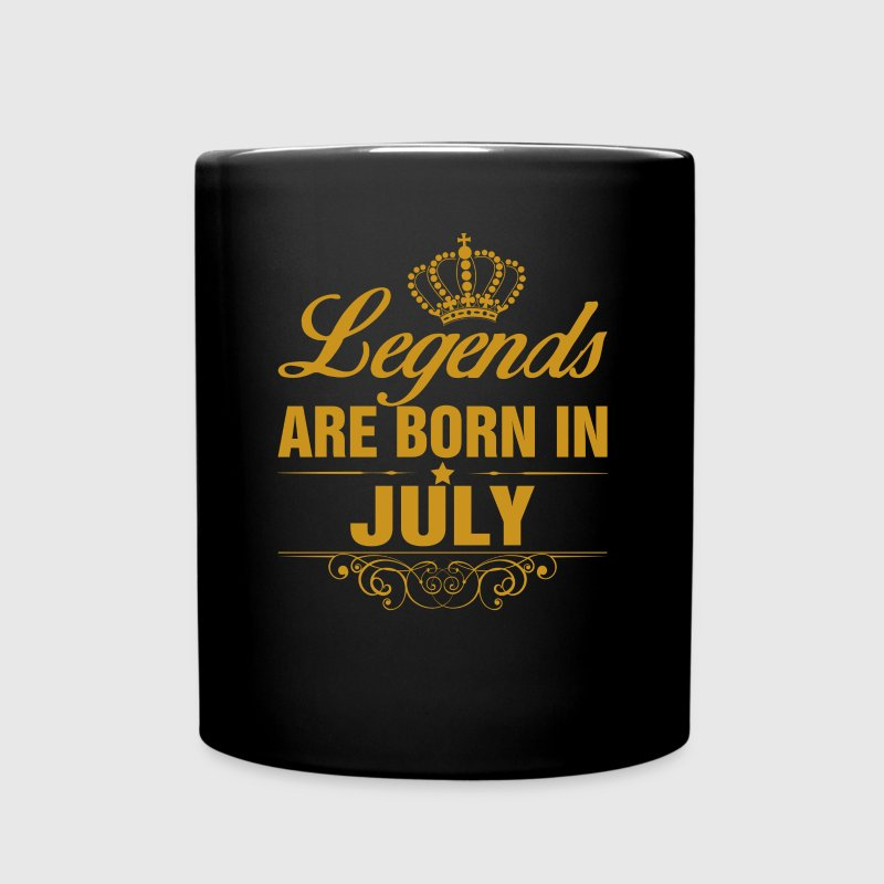 Legends are Born in July Mugs & Drinkware - Full Color Mug