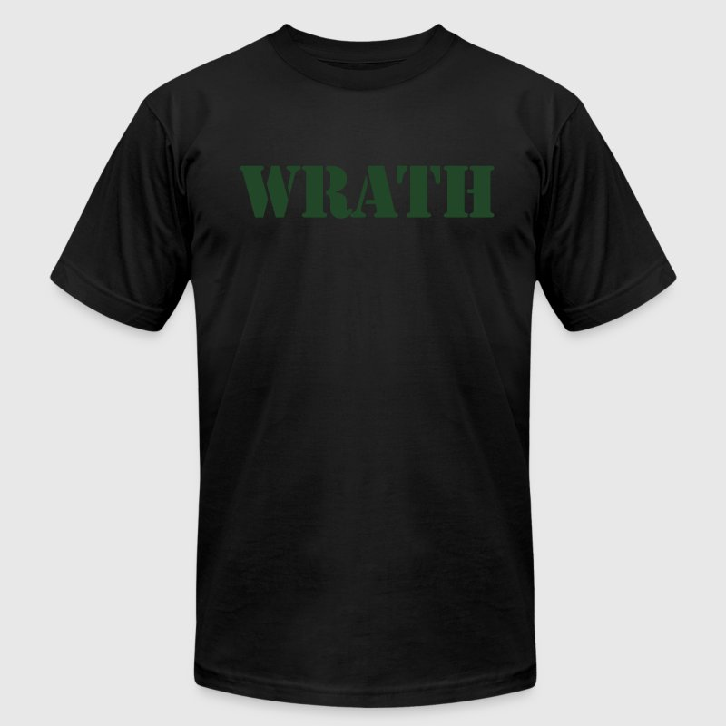 WRATH T-Shirts - Men's T-Shirt by American Apparel