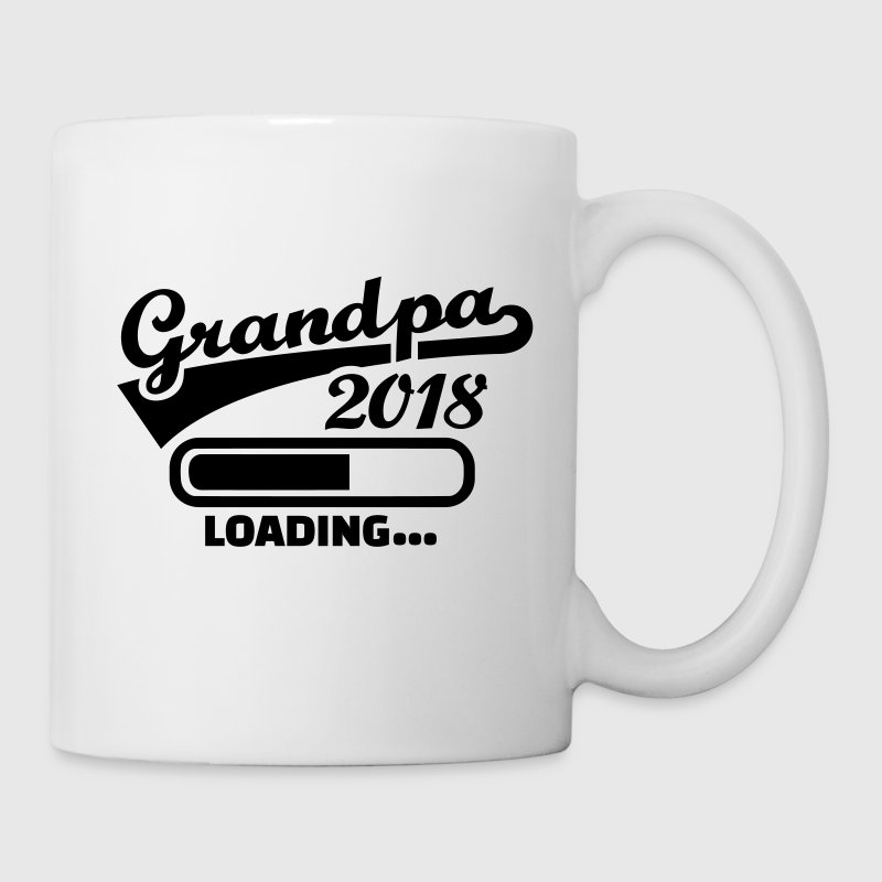 Grandpa 2018 Mugs & Drinkware - Coffee/Tea Mug