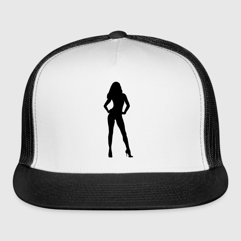 Woman, sexy girl, model  Sportswear - Trucker Cap