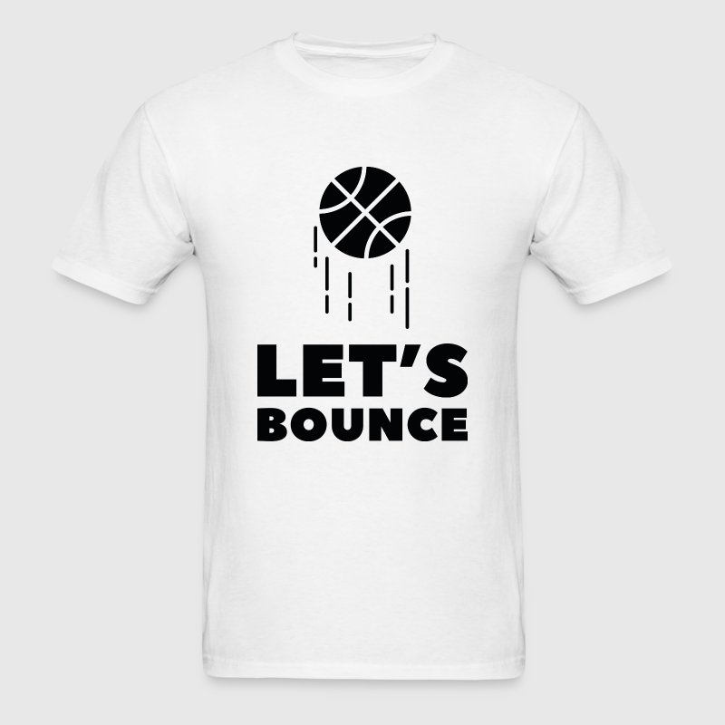 Let's Bounce - Men's T-Shirt