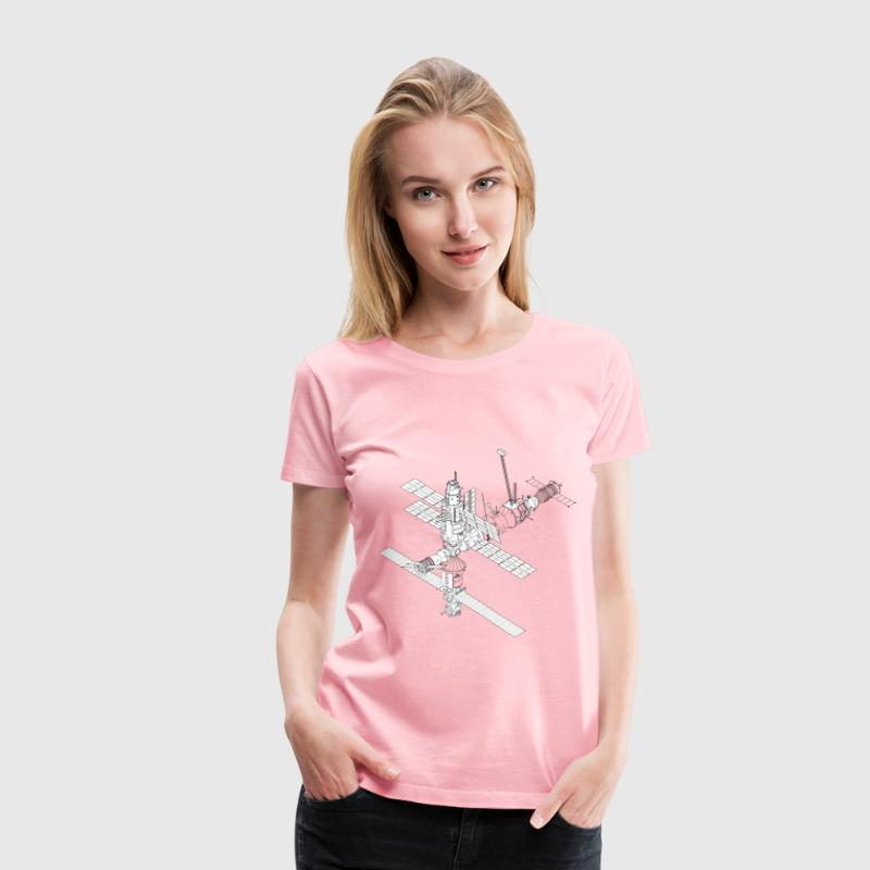 International Space Station - Women's Premium T-Shirt