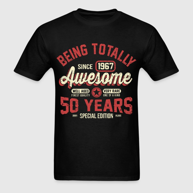 50 Years Of Being Awesome T-Shirt | Spreadshirt