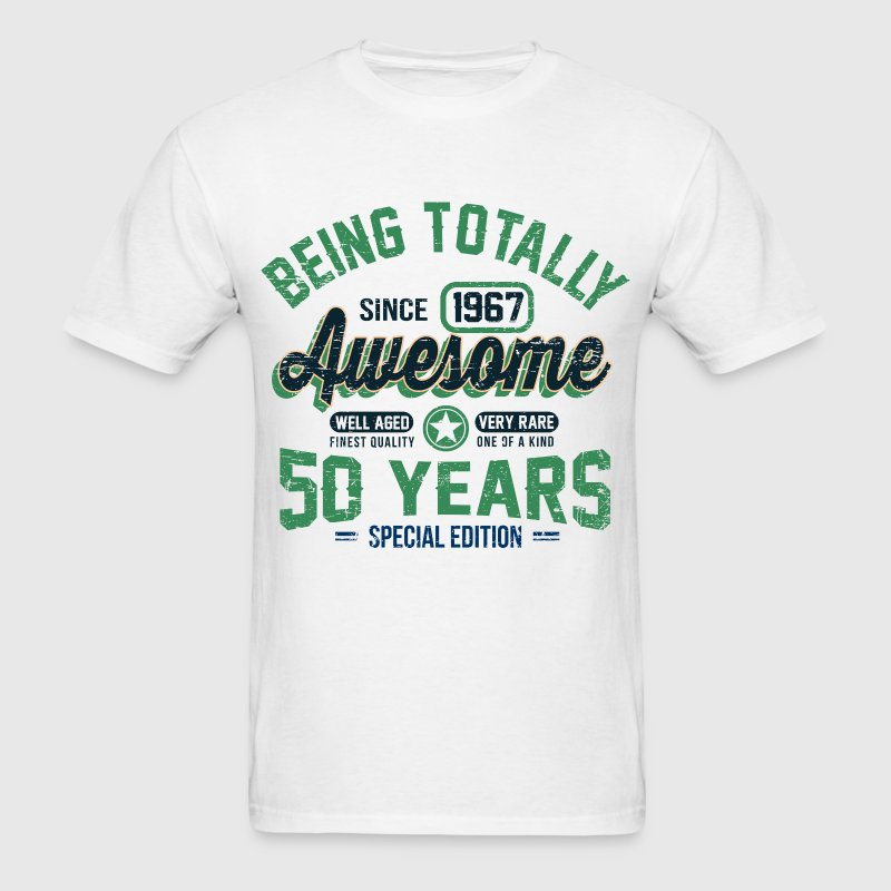 50 Years Of Being Awesome T-Shirts - Men's T-Shirt