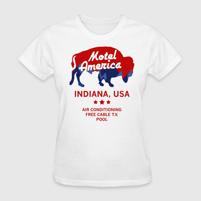 Motel America  - Women's T-Shirt