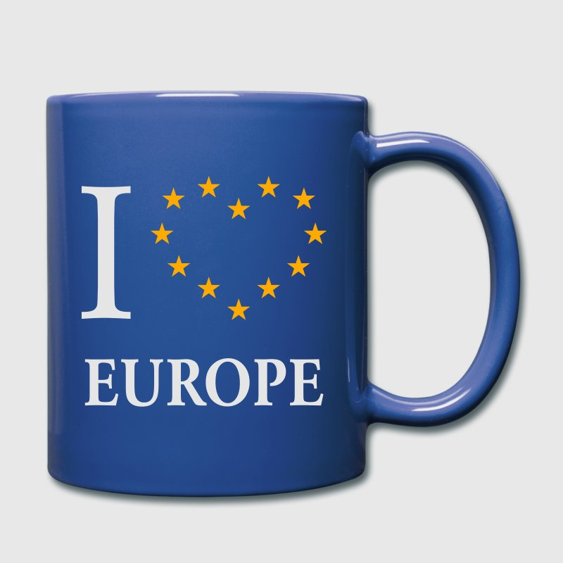 I Love Europe / I Heart Europe Mugs & Drinkware - Full Color Mug