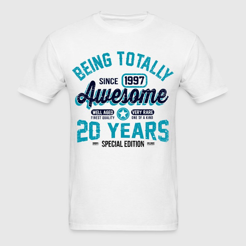 20 Years Of Being Awesome T-Shirts - Men's T-Shirt