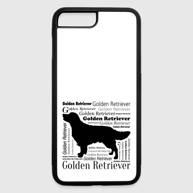 Golden Retriever iPhone 7 Case - iPhone 7 Plus/8 Plus Rubber Case