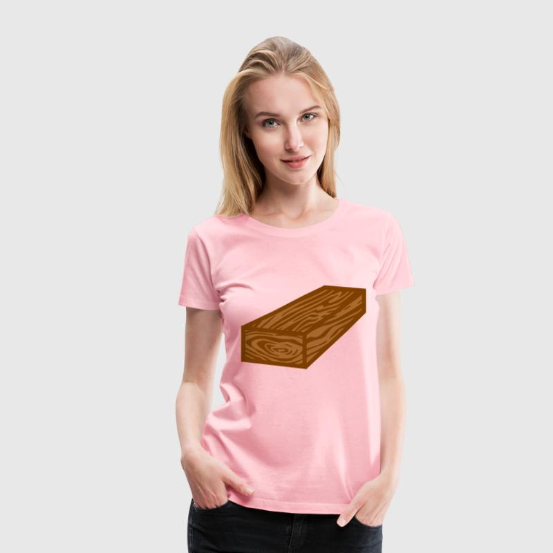 coloured wooden plank - Women's Premium T-Shirt