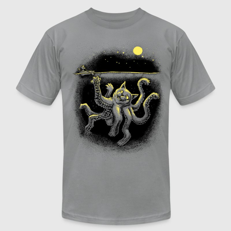 Octo-Puss Shirt - Men's T-Shirt by American Apparel