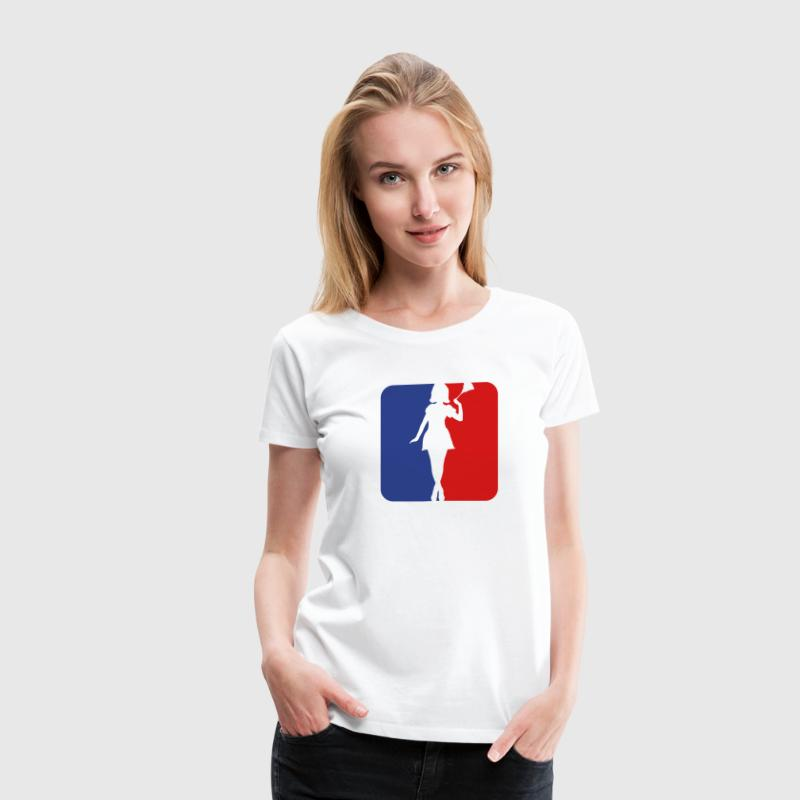 Sexy Housewife Sports 2c T-Shirts - Women's Premium T-Shirt