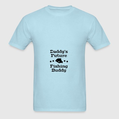 Daddy's Future Fishing Buddy - Men's T-Shirt