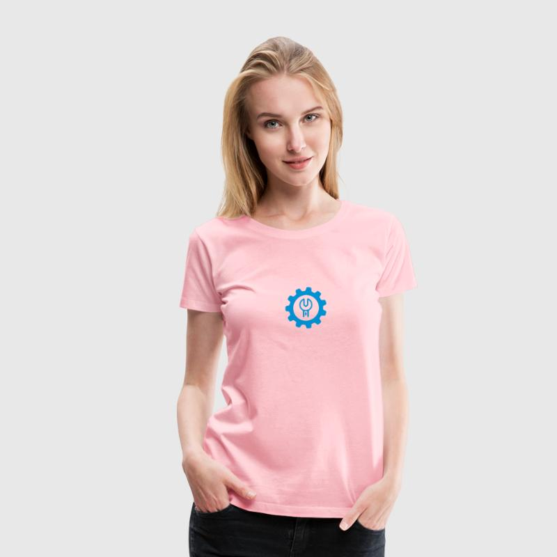 Gear Wrench Icon - Women's Premium T-Shirt