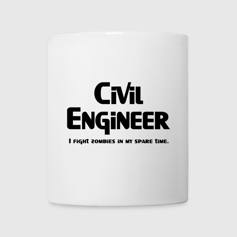 Civil Engineer Zombie Fighter New Apparel - Coffee/Tea Mug