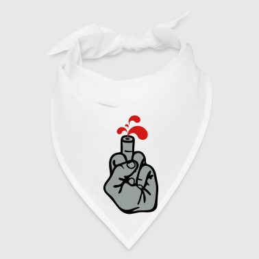 Middle finger n' blood 3c Accessories - Bandana