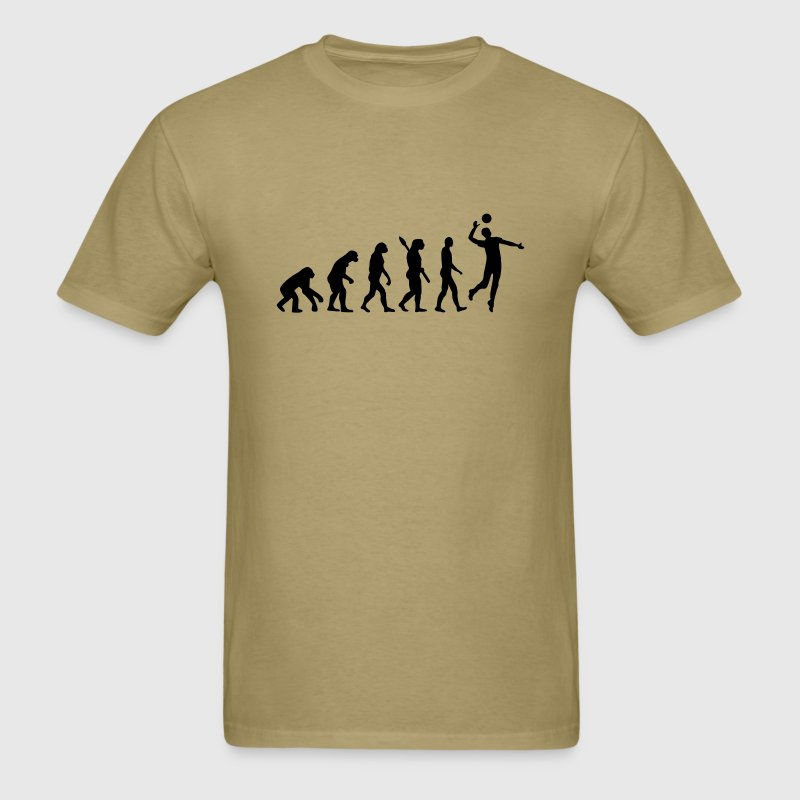 Evolution volleyball t shirt spreadshirt for Life is good volleyball t shirt