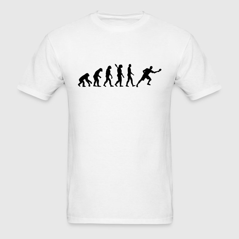 Evolution Table tennis T-Shirts - Men's T-Shirt