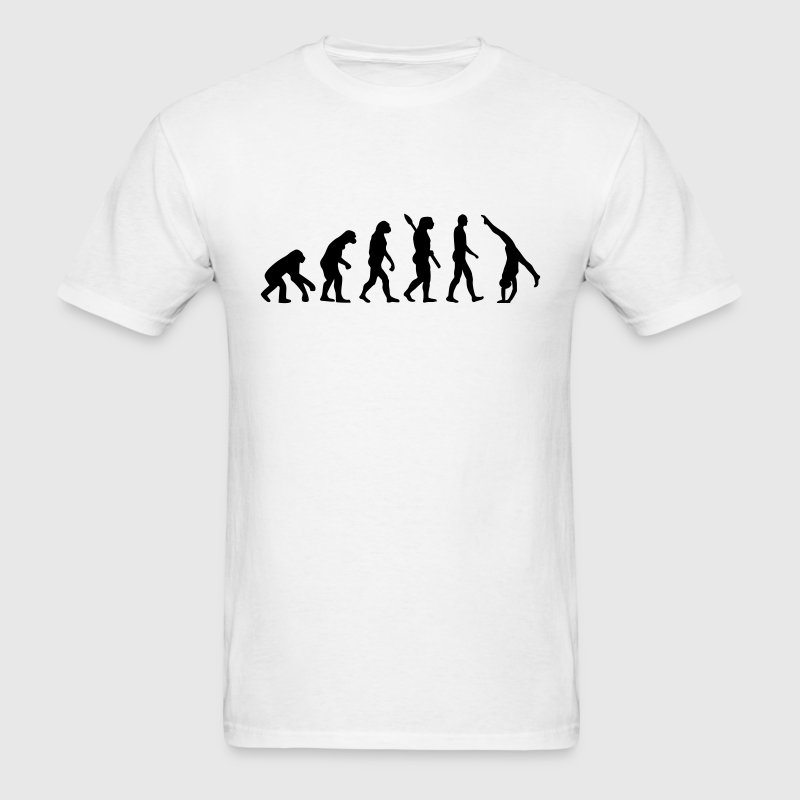 Evolution gymnastics t shirt spreadshirt Gymnastics t shirt designs