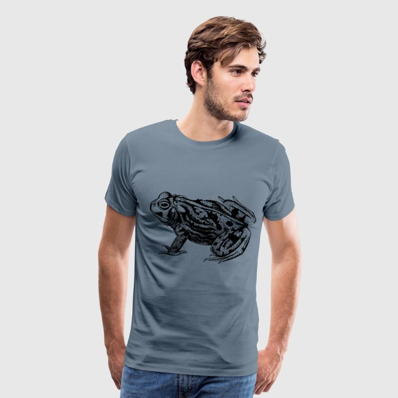 Great plains toad - Men's Premium T-Shirt