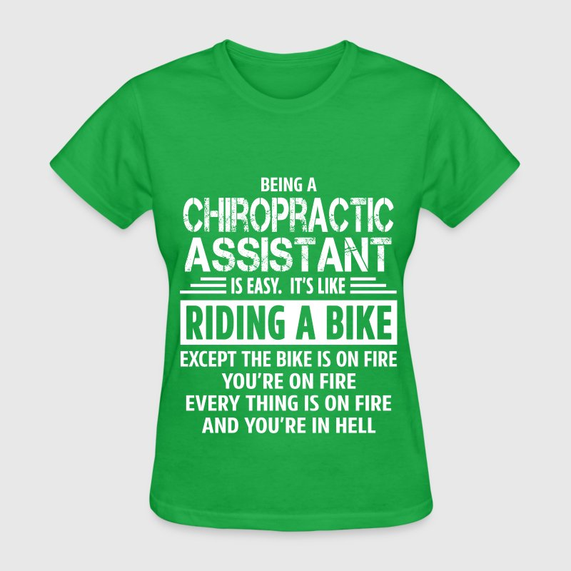 chiropractic assistant t shirt spreadshirt - What Is A Chiropractic Assistant