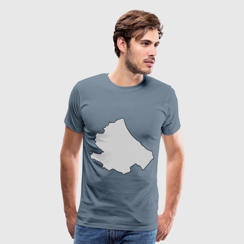 Abruzzo Region of Italy - Men's Premium T-Shirt