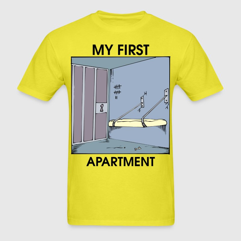 my first apartment t shirt spreadshirt