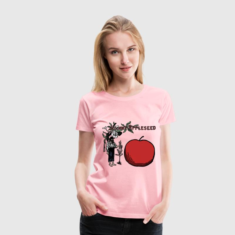 Johnny Appleseed Colour - Women's Premium T-Shirt