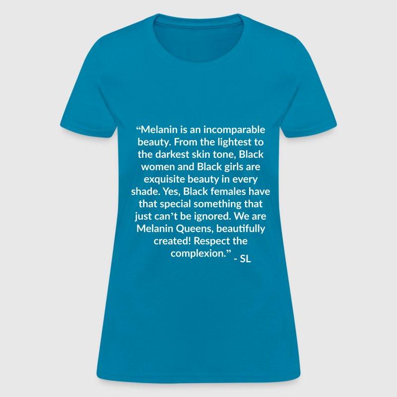 Melanin Quotes Alluring Melanin Quotes T Shirt Tshirt  Spreadshirt