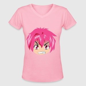 Womens V Neck T Shirt