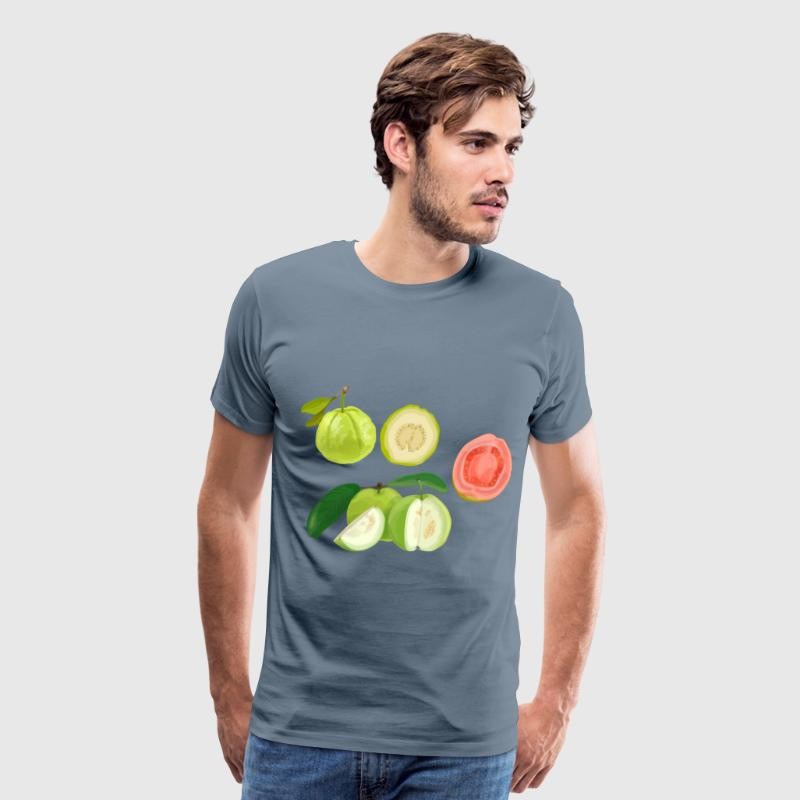 guava fruit - Men's Premium T-Shirt